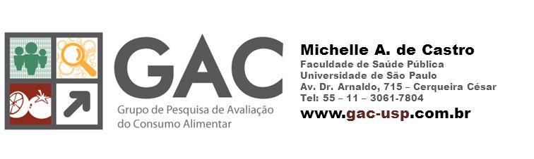 Michelle A. de Castro Faculdade de Saúde Pública Universidade de São Paulo Av.