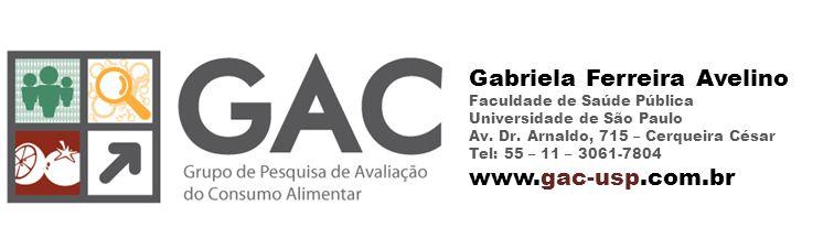 Gabriela Ferreira Avelino Faculdade de Saúde Pública Universidade de São Paulo Av.