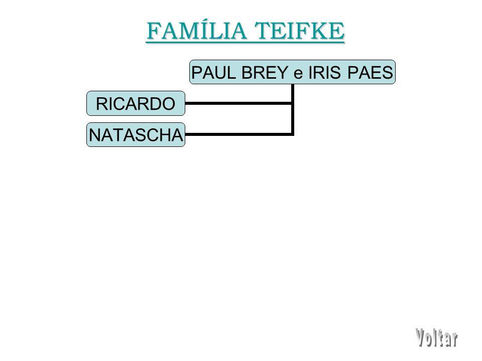 PAUL BREY e IRIS PAES RICARDO NATASCHA FAMÍLIA TEIFKE FAMÍLIA TEIFKE