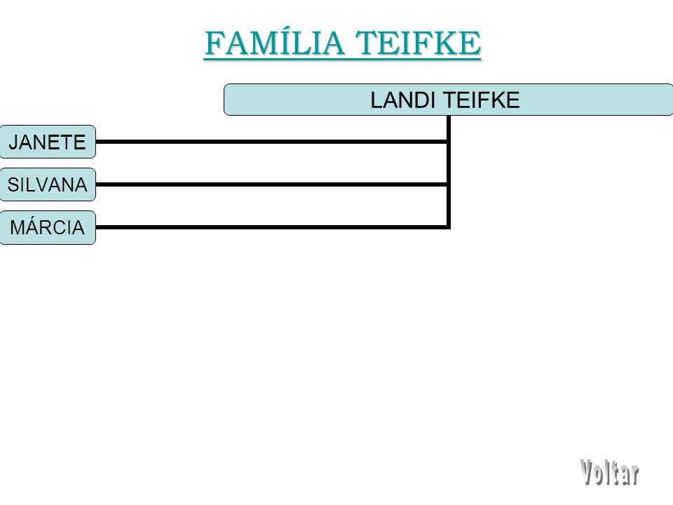 LANDI TEIFKE JANETE SILVANA MÁRCIA FAMÍLIA TEIFKE FAMÍLIA TEIFKE