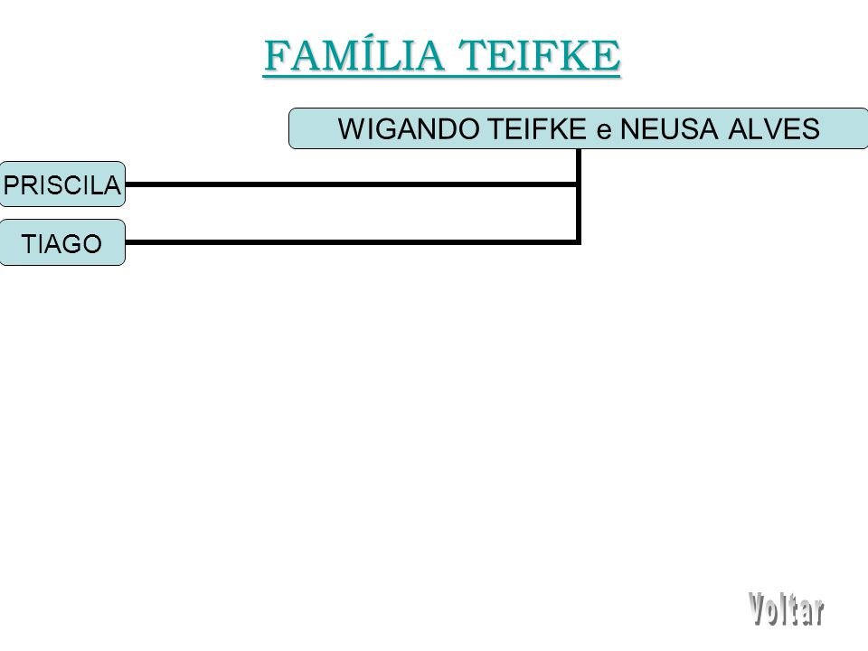WIGANDO TEIFKE e NEUSA ALVES PRISCILA TIAGO FAMÍLIA TEIFKE FAMÍLIA TEIFKE