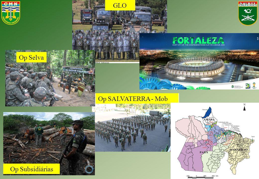 Op SALVATERRA - Mob Op Selva GLO Op Subsidiárias