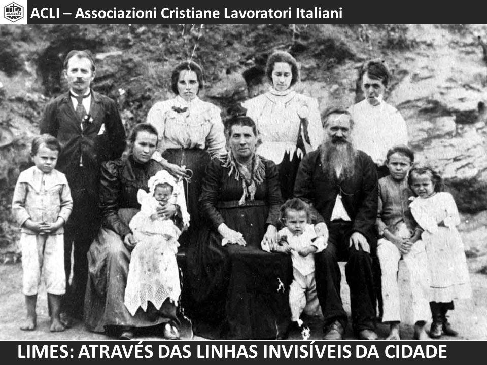 Limes: através das linhas invisíveis da cidade Programa do encontro o Diáspora Italiana o Imigração Italiana em São Paulo o Imigração Italiana no Bixiga o Arquitetura no Bixiga o Assentamento, diálogo e atualidade