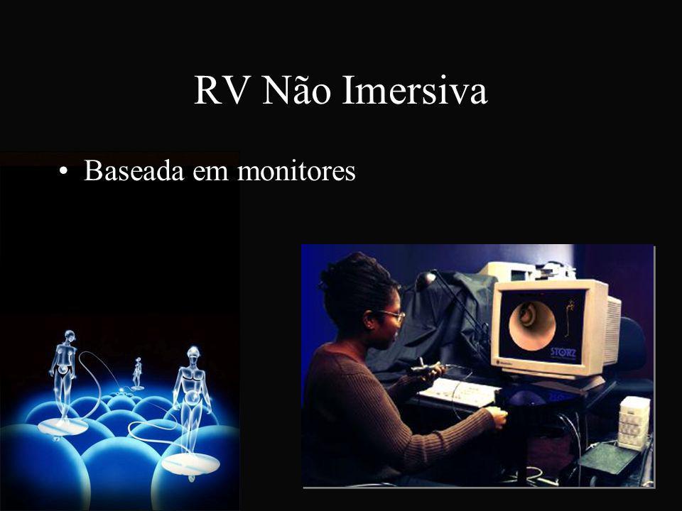 RV Não Imersiva Baseada em monitores