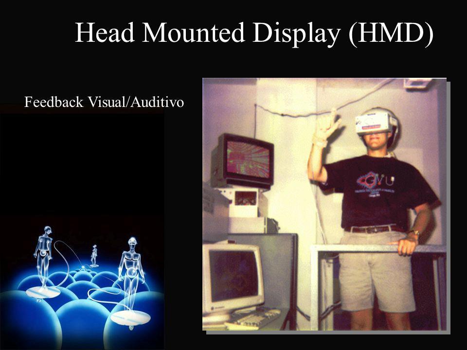 Feedback Visual/Auditivo Head Mounted Display (HMD)