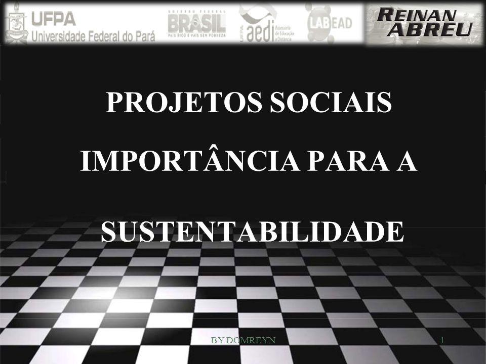 PROJETOS SOCIAIS IMPORTÂNCIA PARA A SUSTENTABILIDADE 1BY DOMREYN