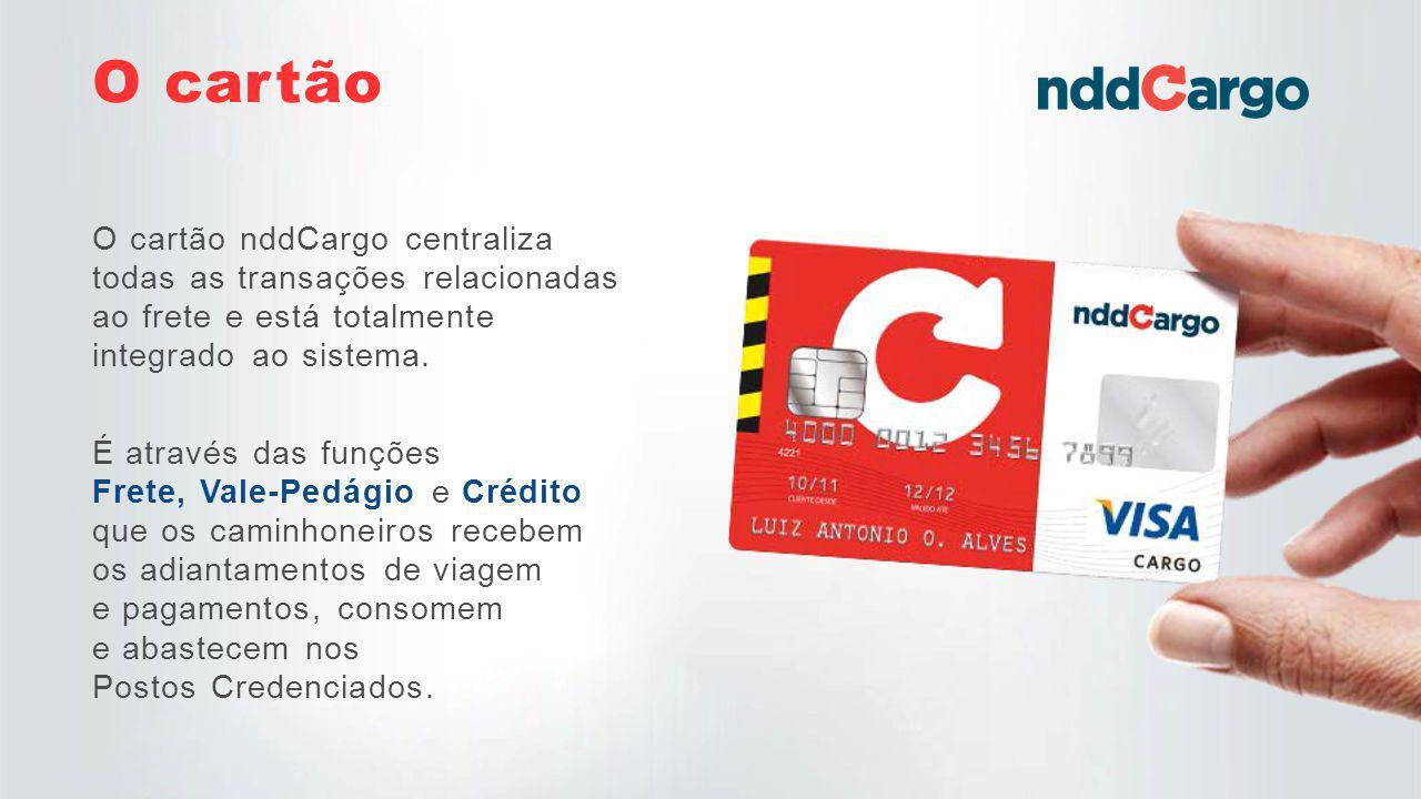 O nddCargo é uma solução completa desenvolvida para atender e suprir os três envolvidos no processo de pagamento, beneficiando Caminhoneiros, Postos Credenciados e Empresas.