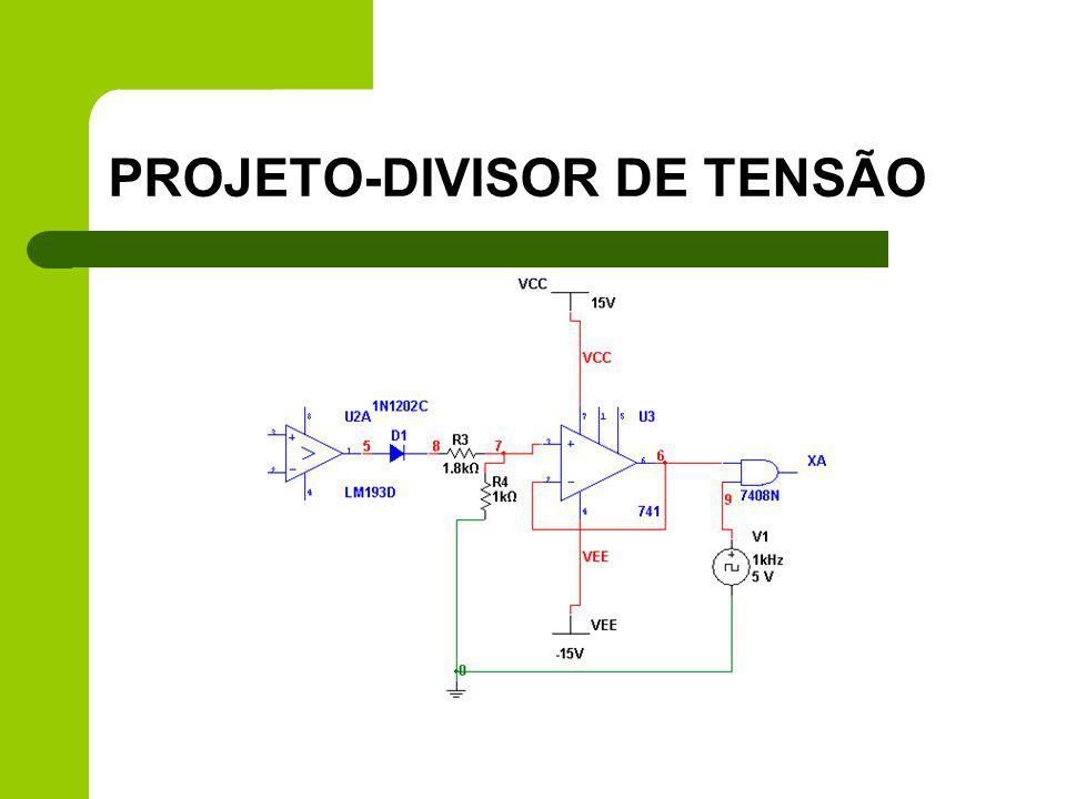 PROJETO-DIVISOR DE TENSÃO