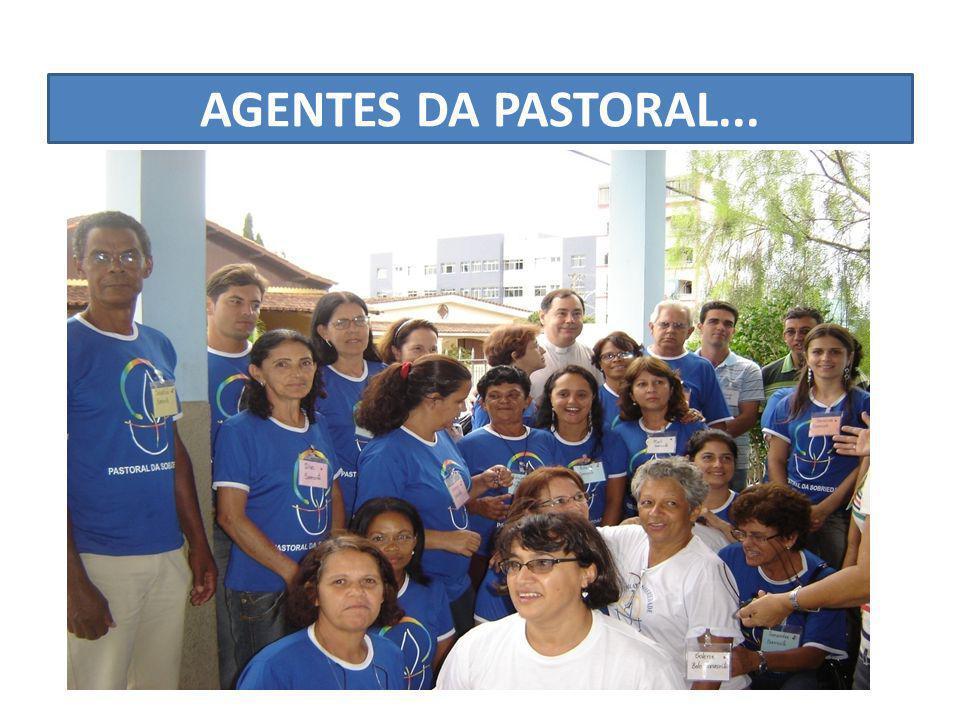 AGENTES DA PASTORAL...