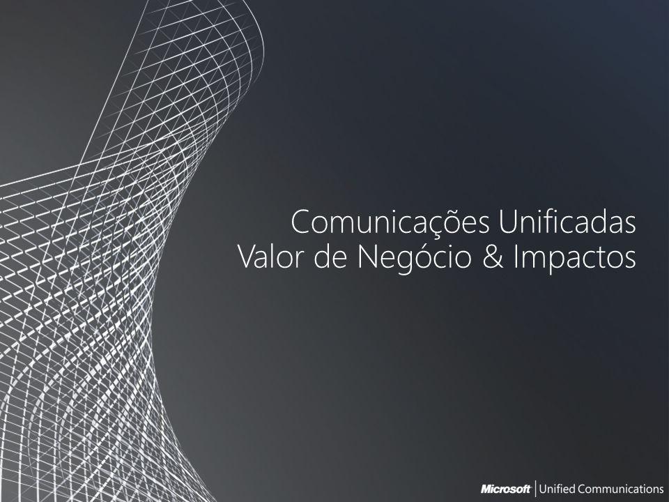Comunicações Unificadas Valor de Negócio & Impactos
