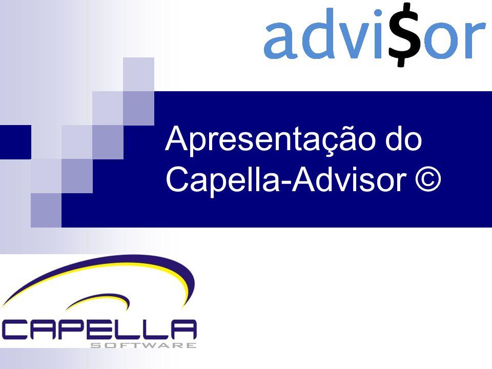 Apresentação do Capella-Advisor ©