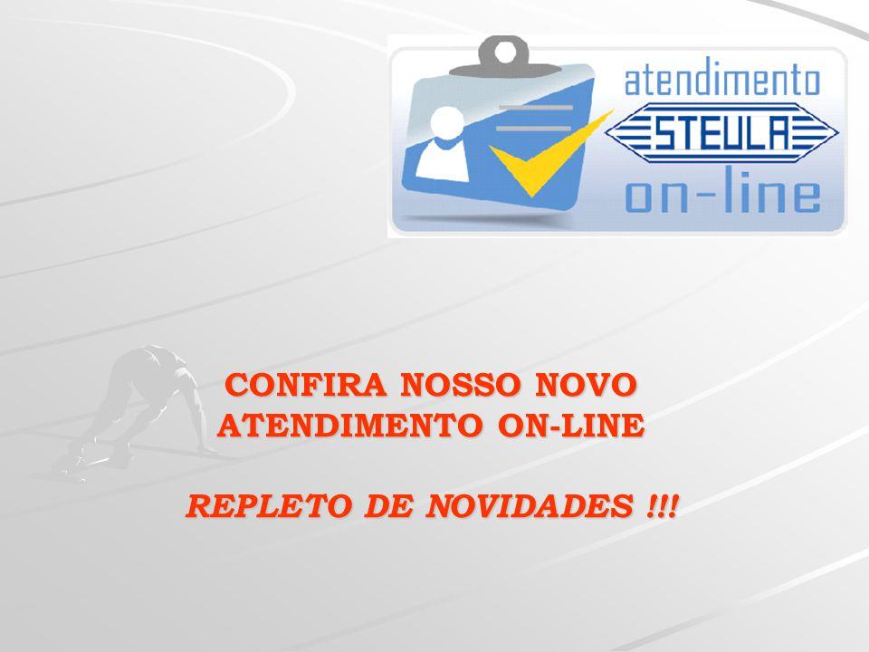  Ao CONCLUIR PEDIDO, abrirá a seguinte tela : Instruções para operação do STEULA-ON-LINE