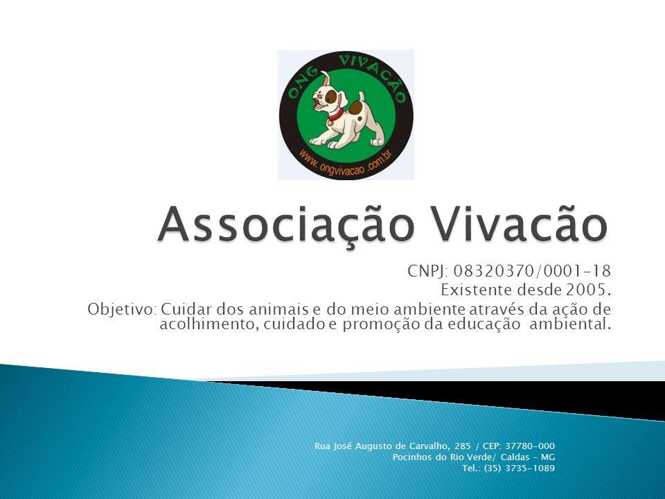  A filosofia da Vivacão é promover a saúde e a felicidade dos animais abandonados, oferecendo-lhes um lar, atenção e cuidados.