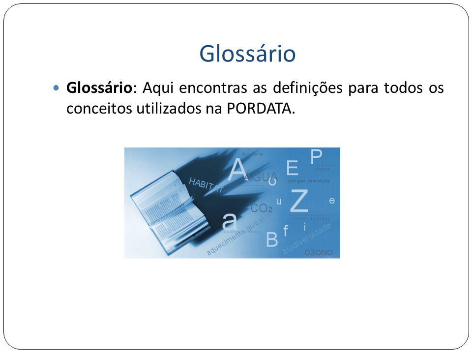Glossário Glossário: Aqui encontras as definições para todos os conceitos utilizados na PORDATA.