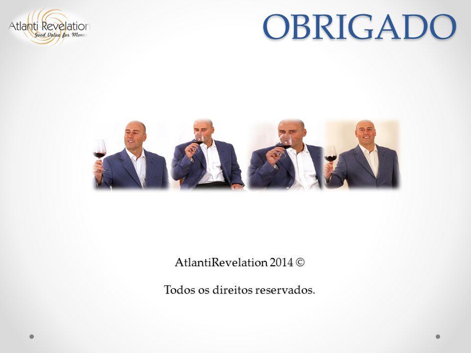 OBRIGADO AtlantiRevelation 2014 © Todos os direitos reservados.