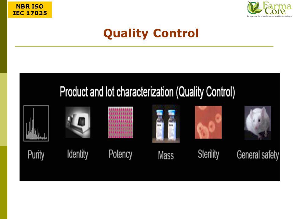 Quality Control NBR ISO IEC 17025