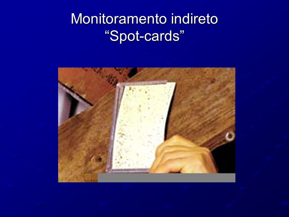 "Monitoramento indireto ""Spot-cards"""