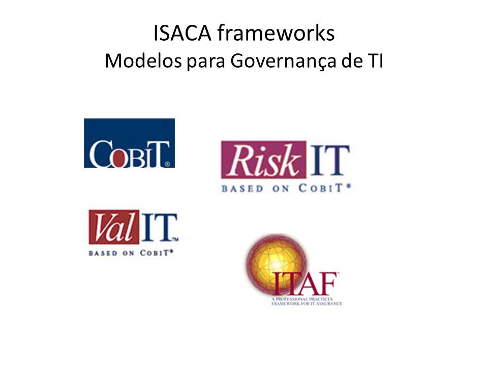 ISACA frameworks Modelos para Governança de TI