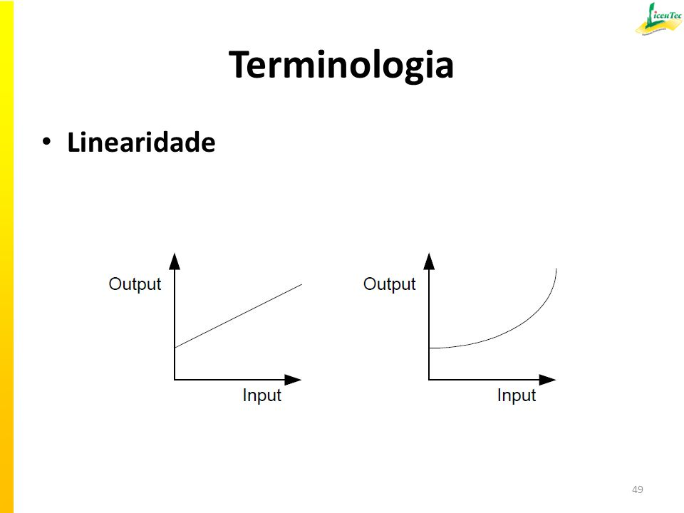 Terminologia Linearidade 49