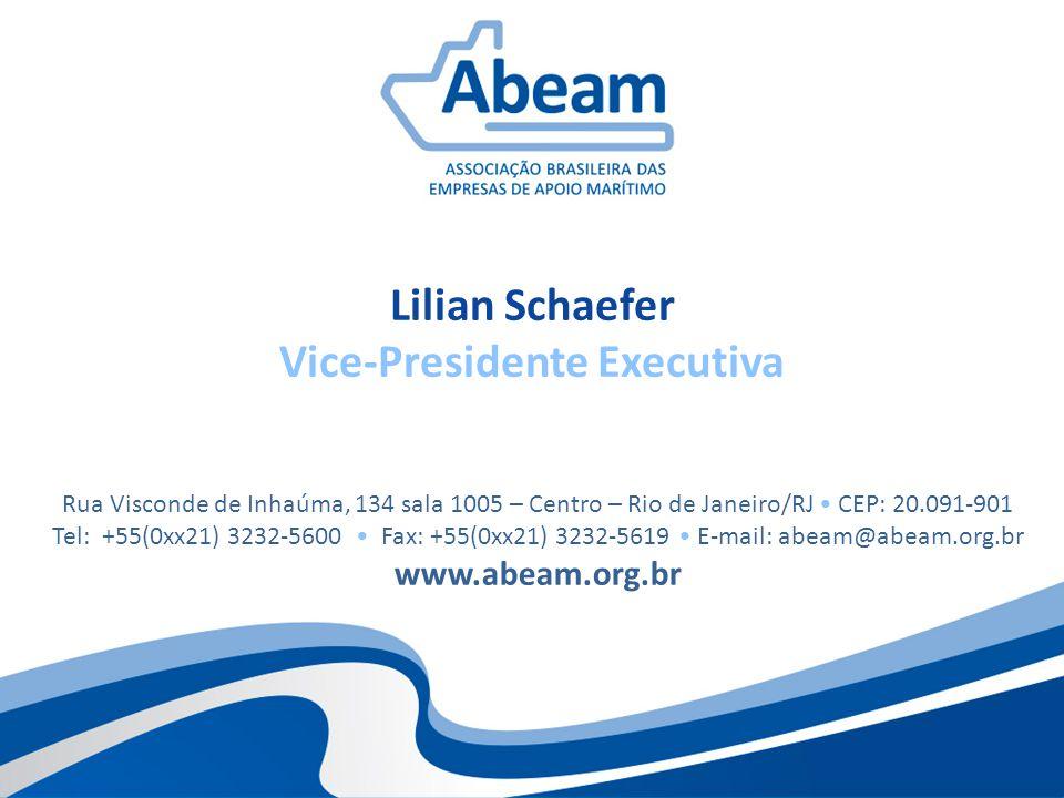 Lilian Schaefer Vice-Presidente Executiva Rua Visconde de Inhaúma, 134 sala 1005 – Centro – Rio de Janeiro/RJ CEP: 20.091-901 Tel: +55(0xx21) 3232-560
