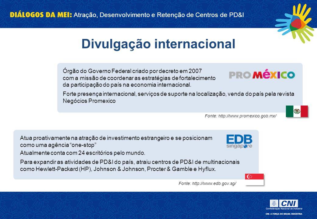 Atração, Desenvolvimento e Retenção de Centros de PD&I Órgão do Governo Federal criado por decreto em 2007 com a missão de coordenar as estratégias de