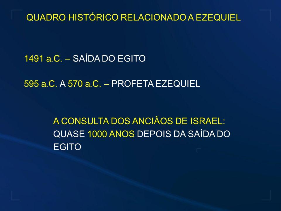 ALEGAÇÕES DO SENHOR PARA NÃO ACEITAR A CONSULTA DOS ANCIÃOS 1.