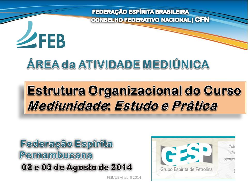 1FEB/UEM-abril 2014