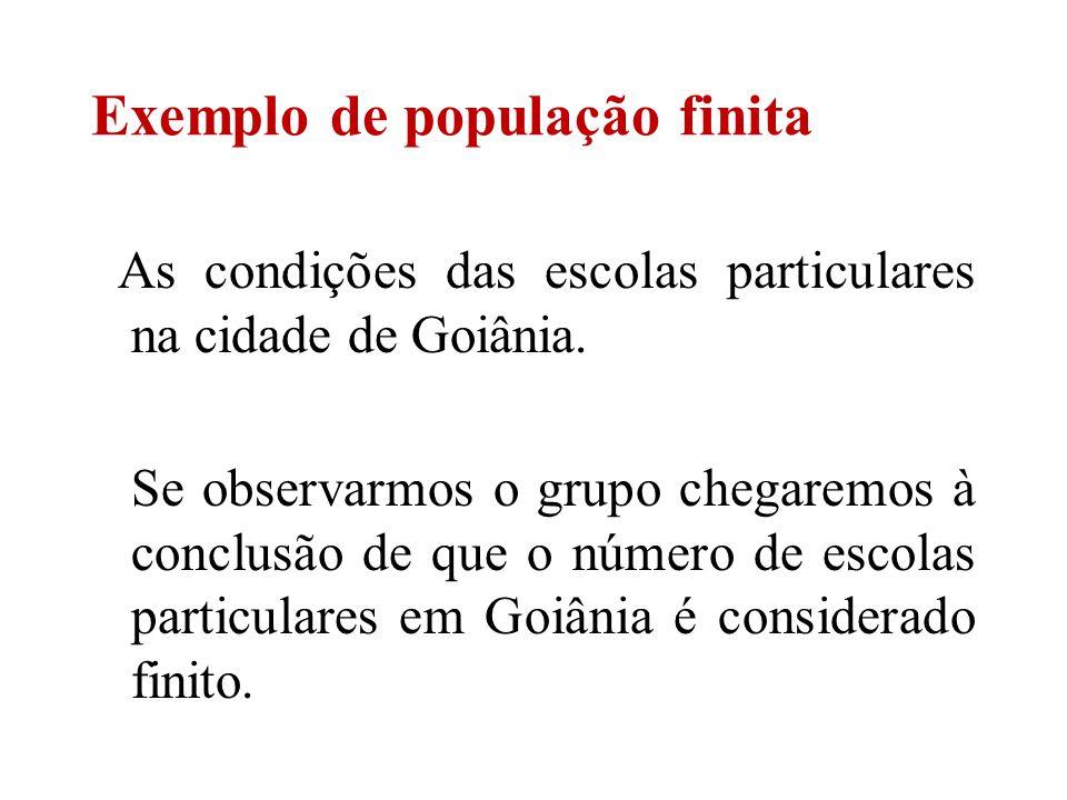 As condições das escolas particulares na cidade de Goiânia. Se observarmos o grupo chegaremos à conclusão de que o número de escolas particulares em G