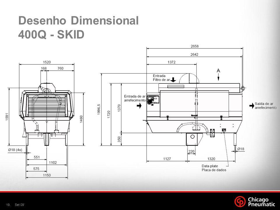 19.Set 09' Desenho Dimensional 400Q - SKID