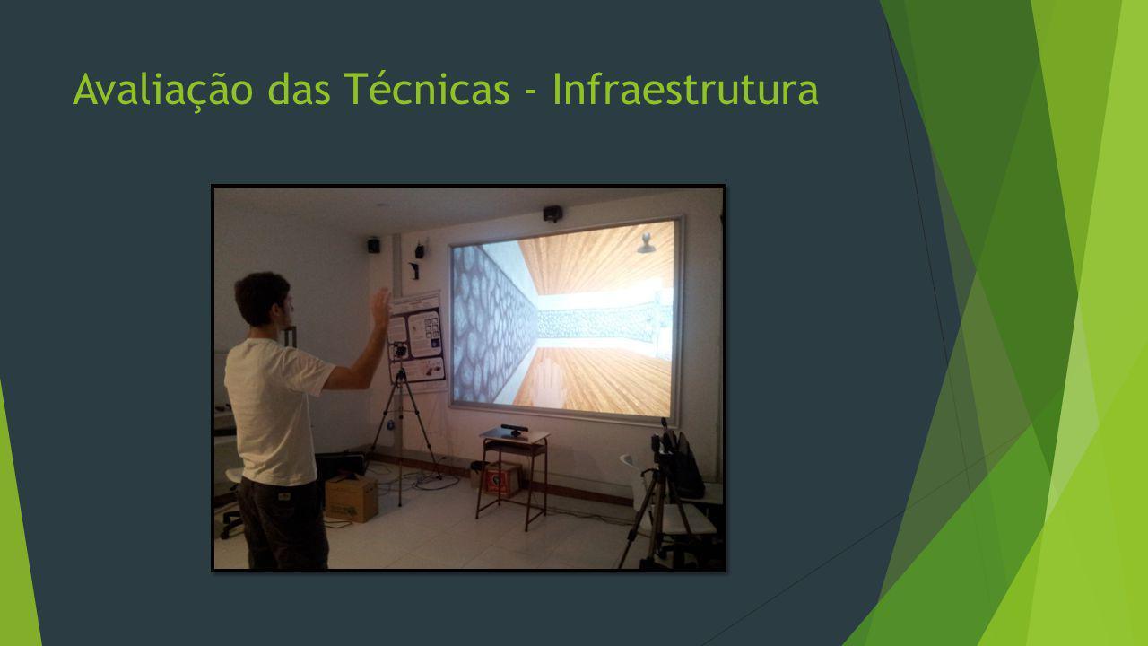 Avaliação das Técnicas - Infraestrutura