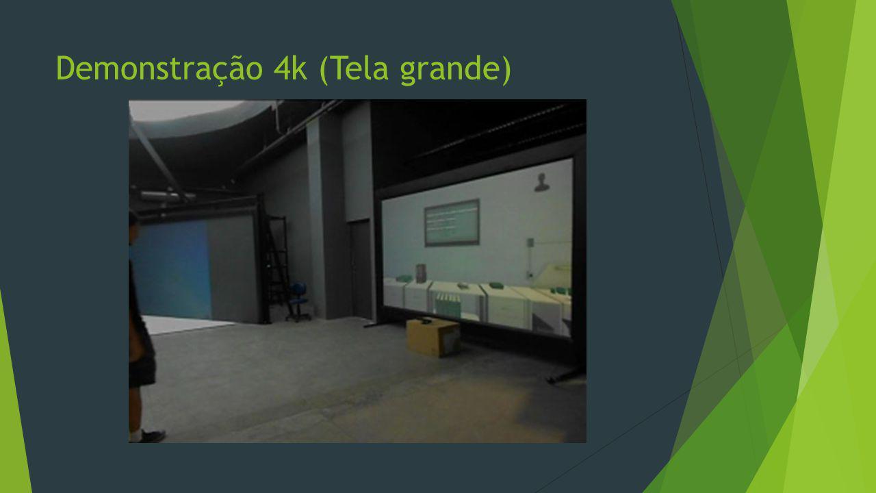 Demonstração 4k (Tela grande)