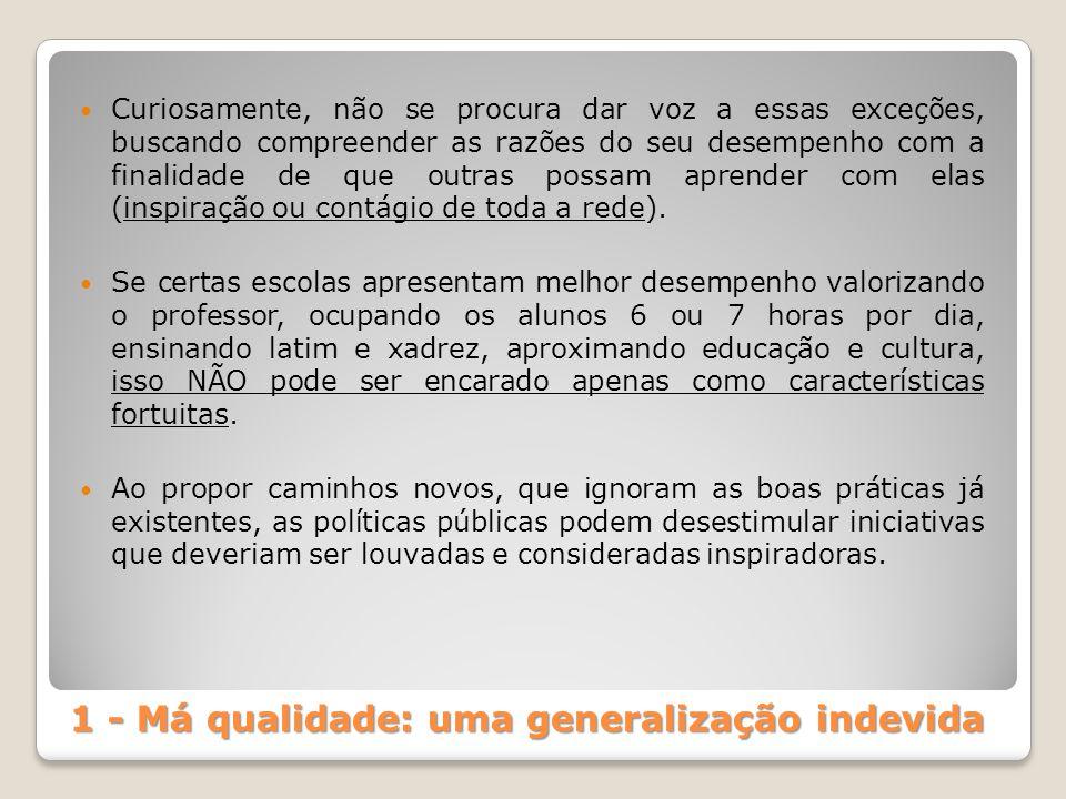 Uma lembrança: o diagnóstico de Anísio Teixeira Texto intitulado: A crise educacional brasileira (1953) - Consenso da gravidade da situação educacional brasileira.