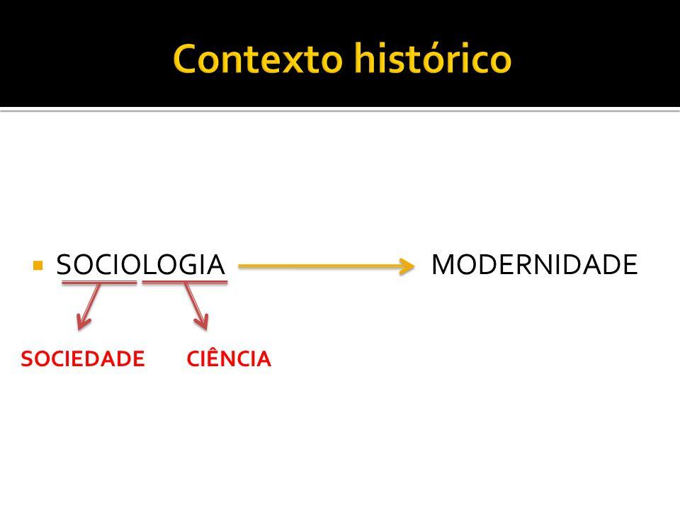  SOCIOLOGIA MODERNIDADE CIÊNCIASOCIEDADE