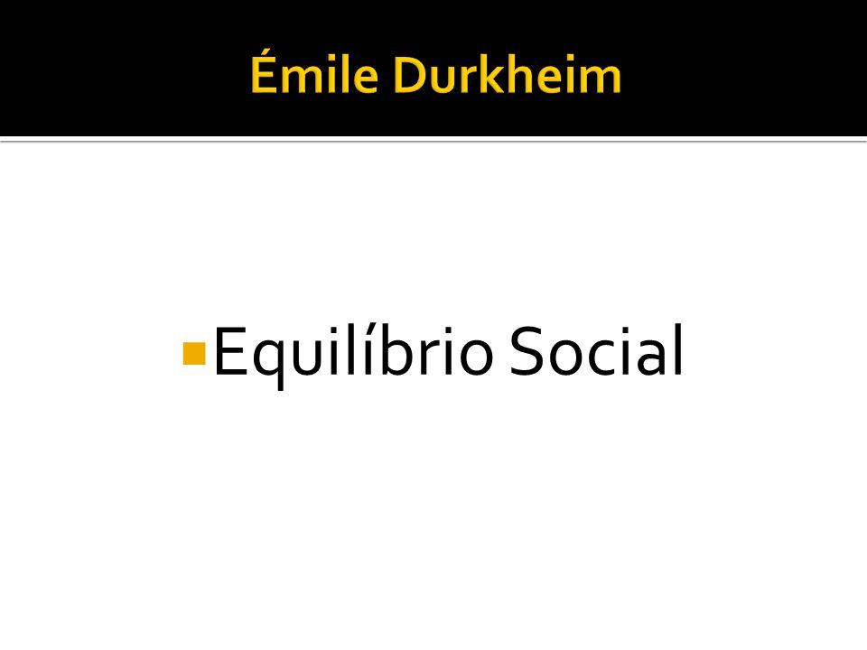  Equilíbrio Social