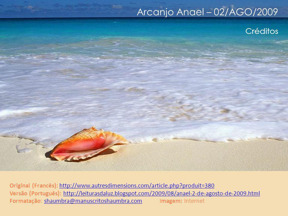 Arcanjo Anael – 02/AGO/2009 Observação Que o estudo é importante no âmbito da famigerada matriz , isto é óbvio.
