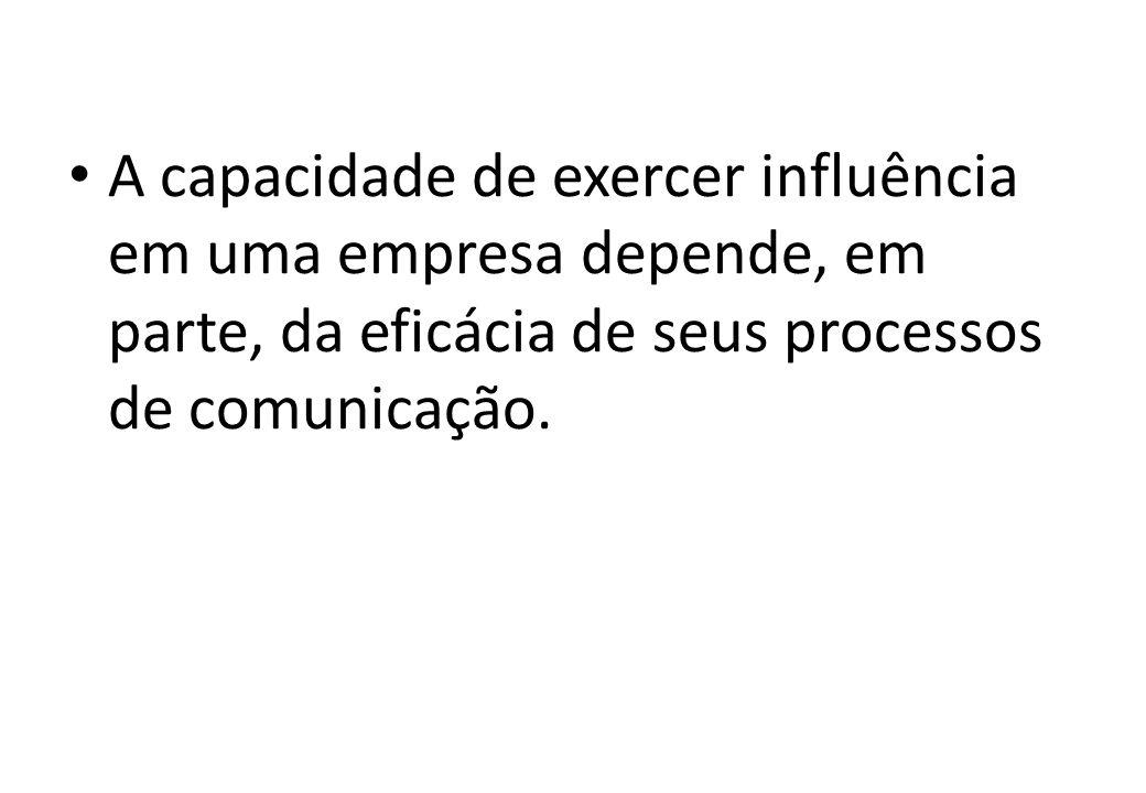  No sistema de comunicações, deve ser considerado: O que deve ser comunicado; Como deve ser comunicado; Quando deve ser comunicado; De quem deve vir a informação; Para quem deve ir a informação; Por que deve ser comunicado; e Quanto deve ser comunicado.