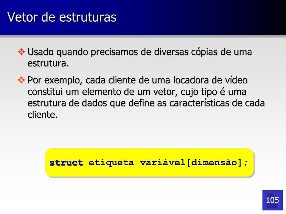 Passando estruturas para funções vPodemos passar estruturas inteiras ou apenas campos destas como argumento para funções ou procedimentos.