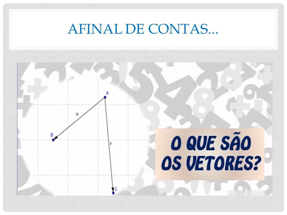 AFINAL DE CONTAS...