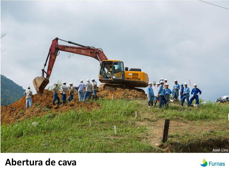 Abertura de cava José Lins