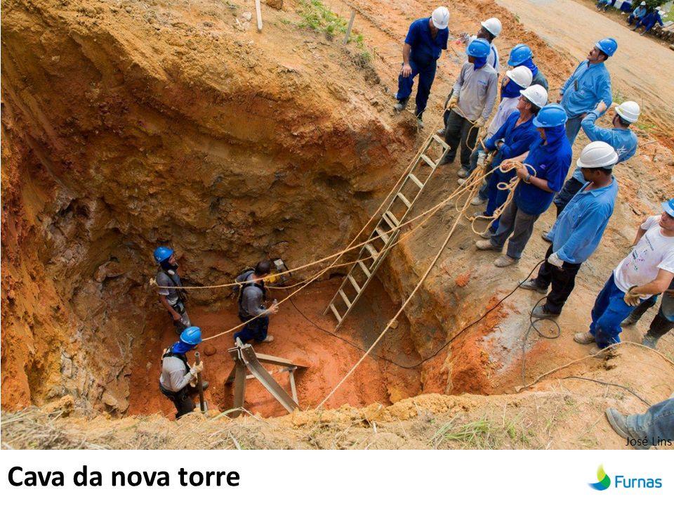 Cava da nova torre José Lins