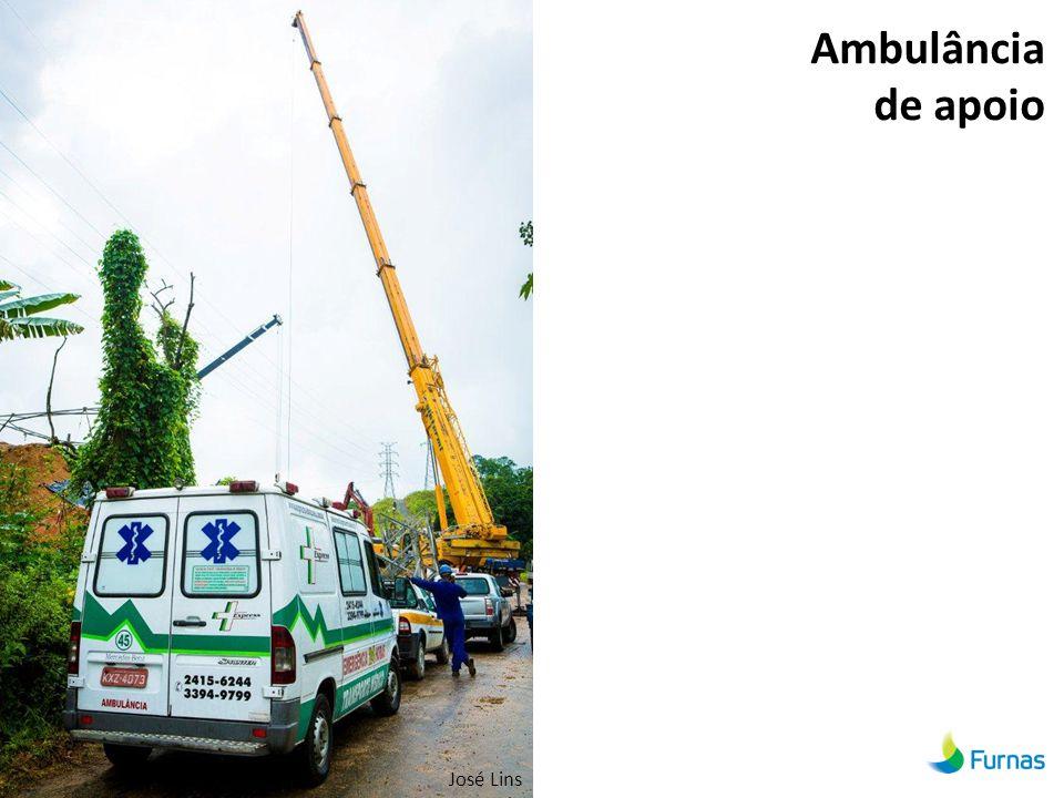 Ambulância de apoio José Lins