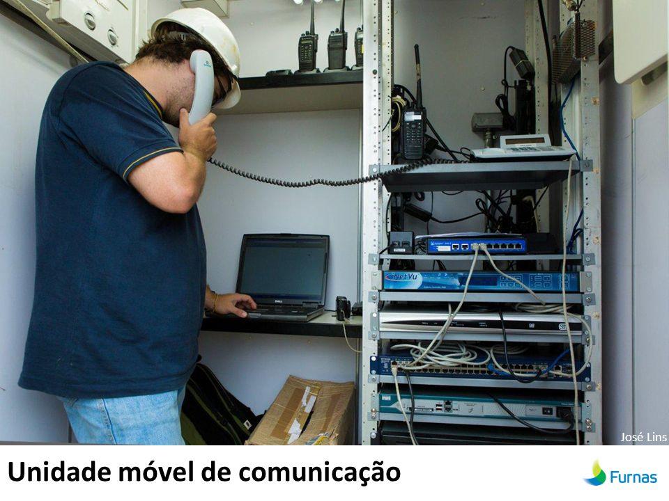 Unidade móvel de comunicação José Lins