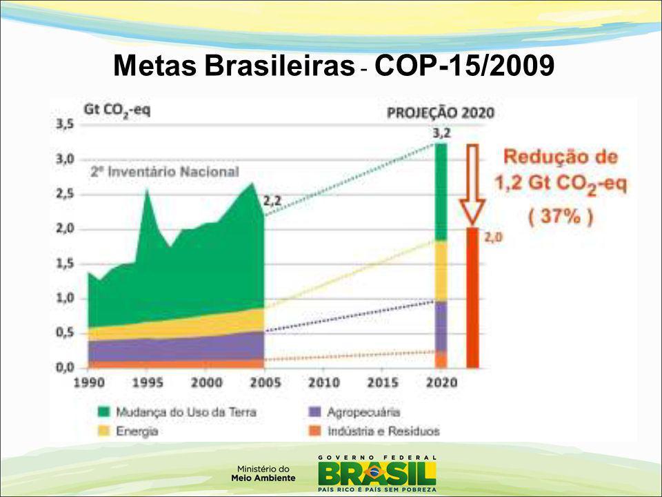 Metas Brasileiras - COP-15/2009