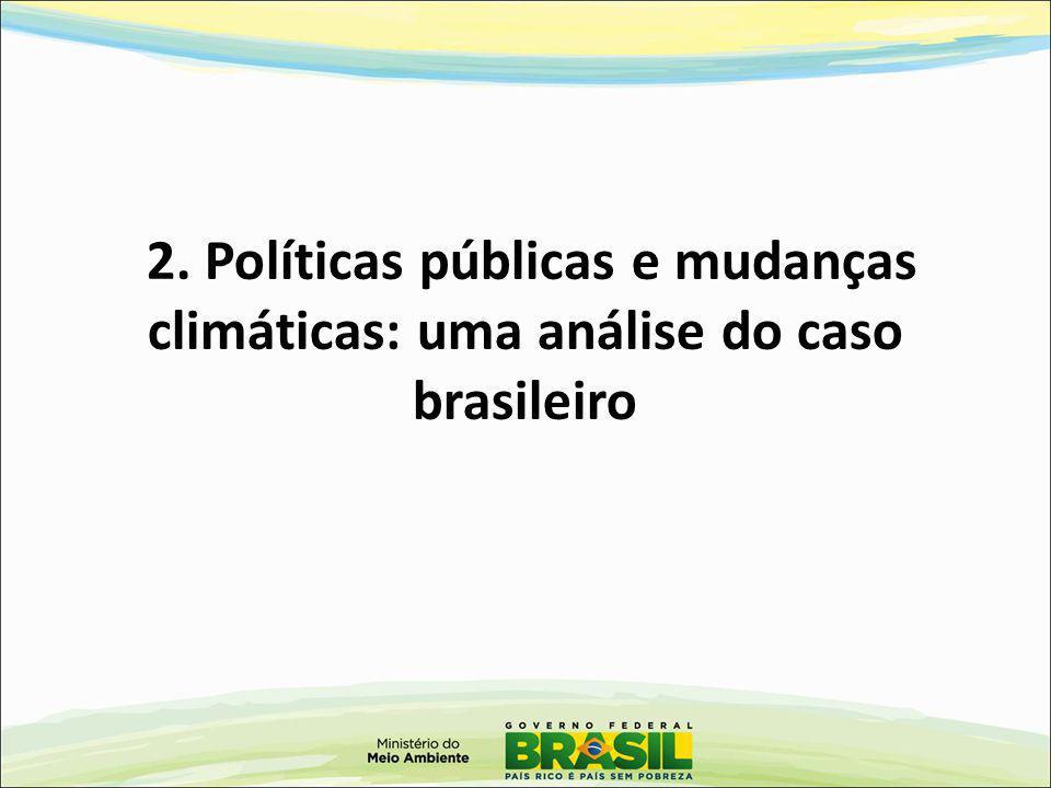 2. Políticas públicas e mudanças climáticas: uma análise do caso brasileiro