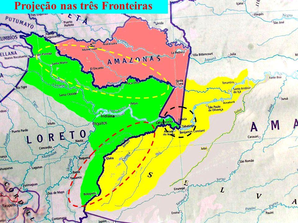 Projeção nas três Fronteiras