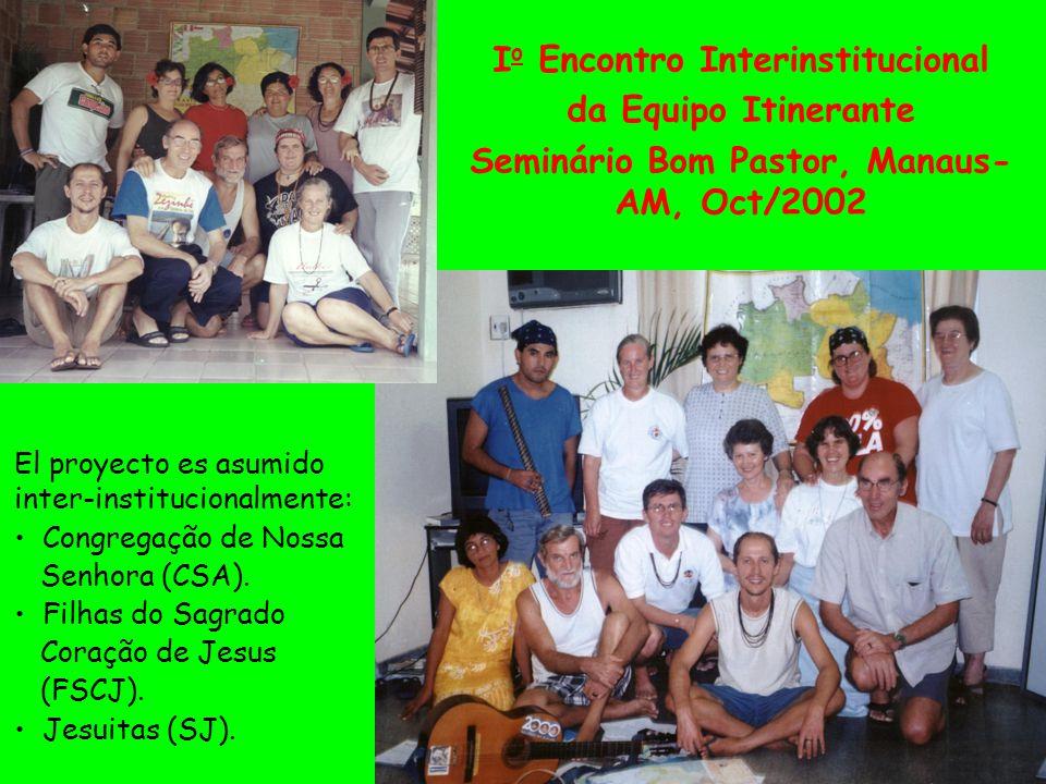 El proyecto es asumido inter-institucionalmente: Congregação de Nossa Senhora (CSA).