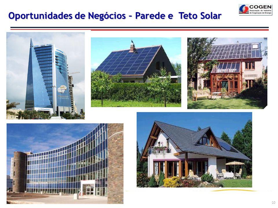 Oportunidades de Negócios – Parede e Teto Solar 10
