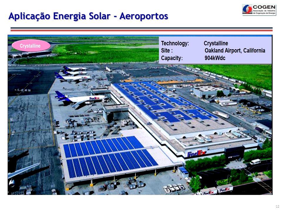 Aplicação Energia Solar - Aeroportos 12