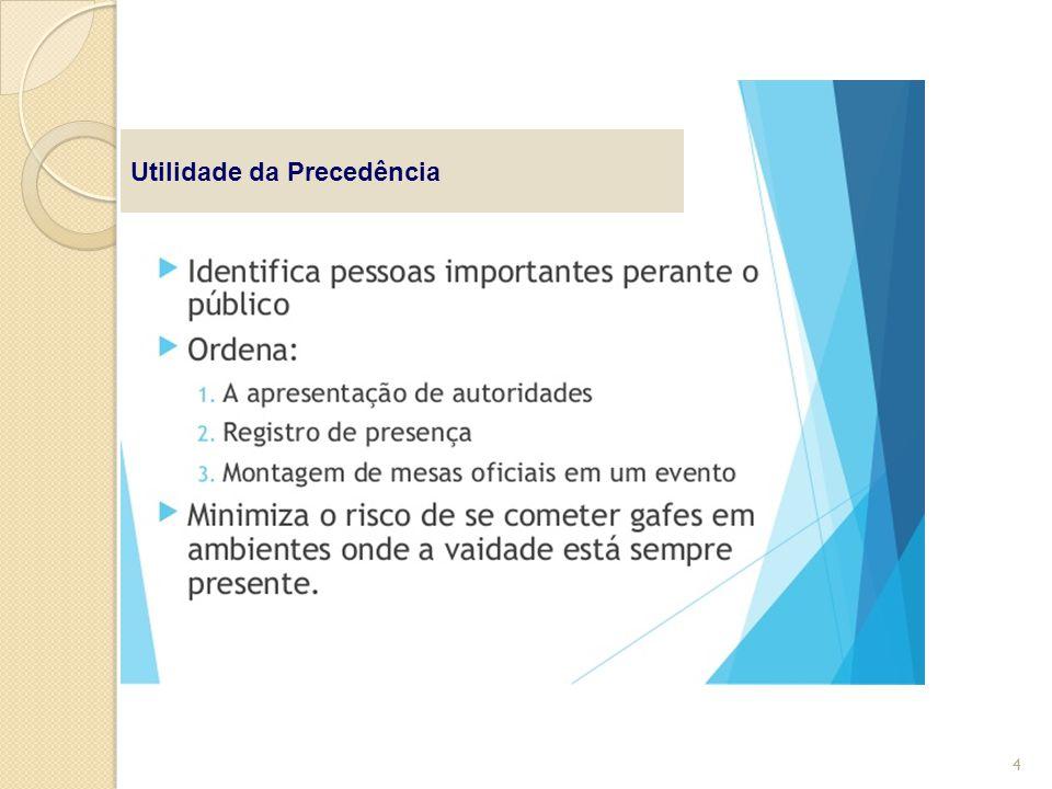 Utilidade da Precedência 4