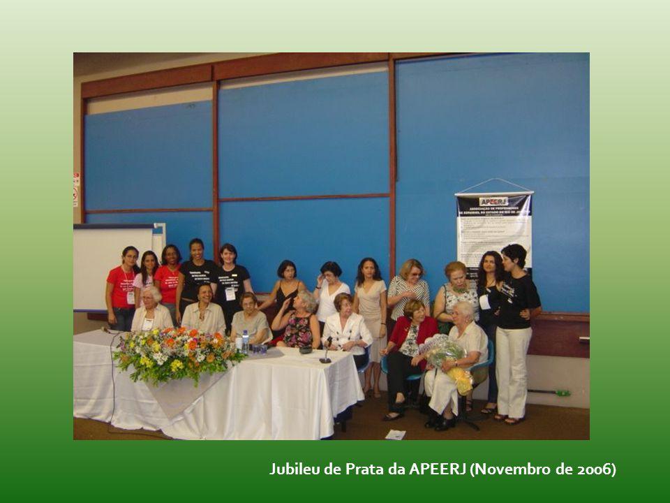 Jubileu de Prata da APEERJ (Novembro de 2006)
